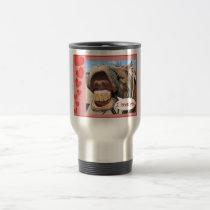 """I Love You"" Horse Travel Mug Customizable"