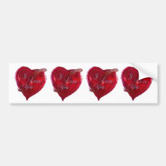 I_love_you, I_love_you, I_love_you, I_love_you Bumper Sticker