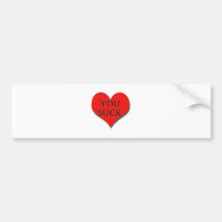 i LOVE YOU - I Really Do! Bumper Sticker