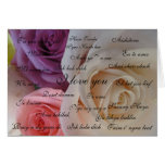 """""""I love you"""" in 23 languages Greeting Card"""