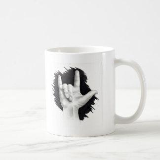 I LOVE YOU IN ASL #2 COFFEE MUG