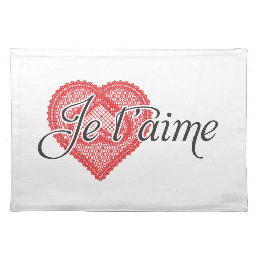 I Adore You In French I love you in French -...