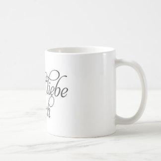 I love you in German Mug