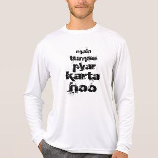 I Love You in Hindi T-shirts