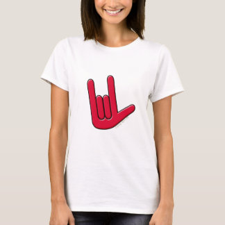 I Love You in Sign T-Shirt