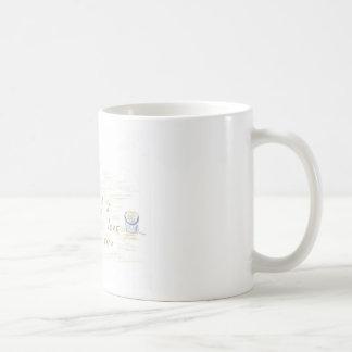 I Love You in the sand Coffee Mug