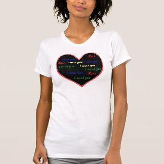 I love you, Ineed you, I measure you, kiss Shirt