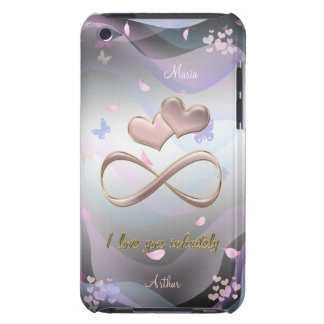 I love you infinitely Case-Mate iPod touch case