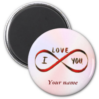 I love you infinitely magnet