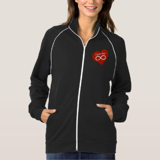 I love you Infinity on red heart | T-shirt