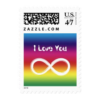I Love You Infinity   Postage