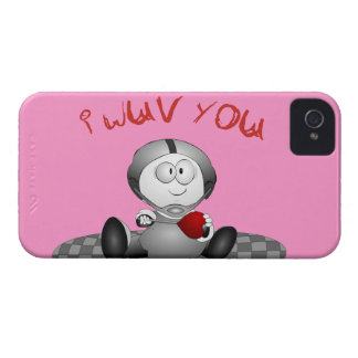 I Love You iPhone 4 Barely There Case