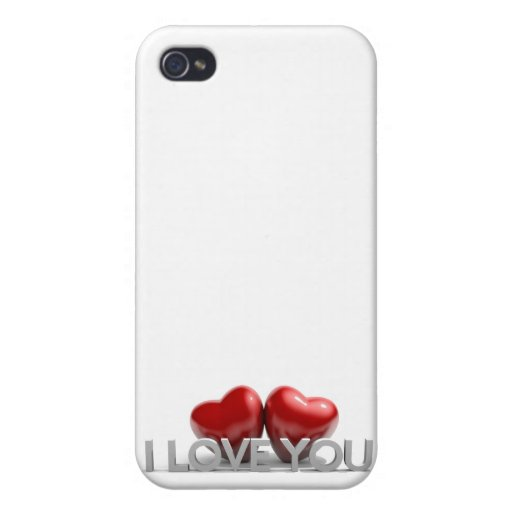I love you iPhone 4 covers