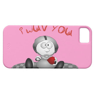 I Love You iPhone 5 Barely There Case