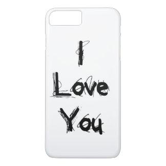 I Love You iPhone 8 Plus/7 Plus Case