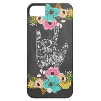 I Love You iPhone SE/5/5s Case
