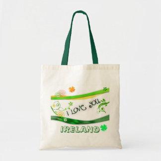 I Love You Ireland Budget Tote Bag