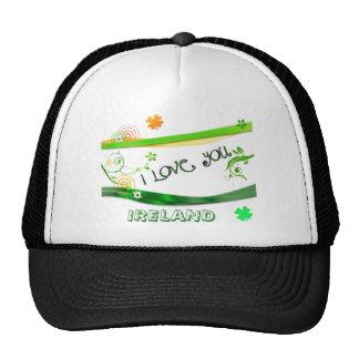 I Love You Ireland Trucker Hat