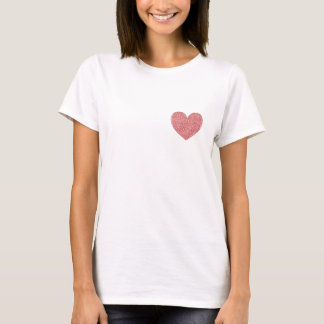 I Love You is Written On My Heart T-Shirt