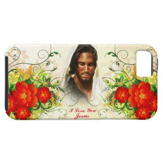 I Love You Jesus Abstract Art 42A Case-Mate Case iPhone 5 Cases