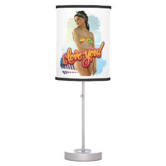 I Love You Keira Desk Lamp