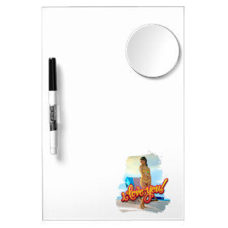 I Love You Keira Dry-Erase Whiteboards