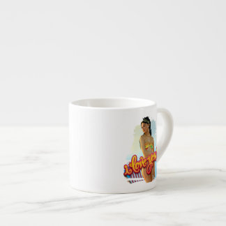 I Love You Keira 6 Oz Ceramic Espresso Cup
