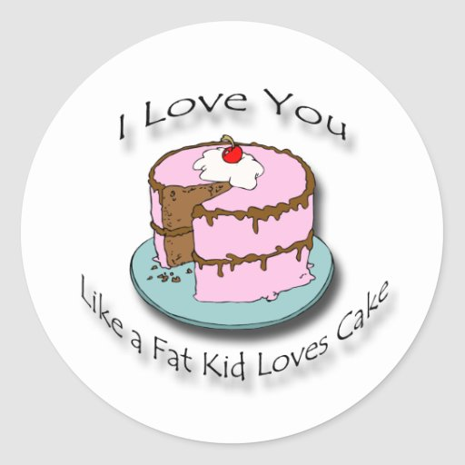 i love you like a fat kid loves cake gallery for gt black kid cake 5050