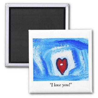 """""""I LOVE YOU"""" MAGNET"""