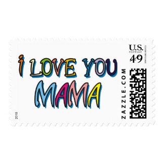 I Love You Mama Shirts Postage