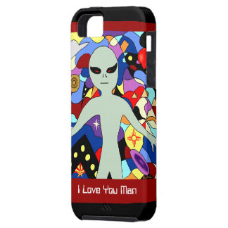 I Love you Man Alien iPhone Mate Case