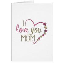 i love you mom