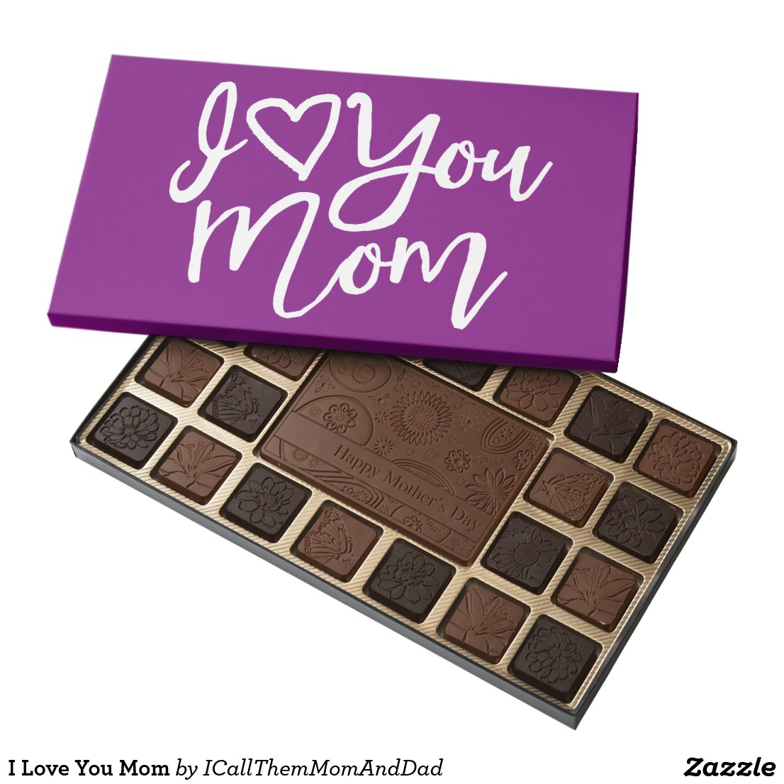 I Love You Mom Assorted Chocolates