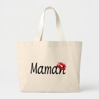 I Love You, Mom Tote Bags