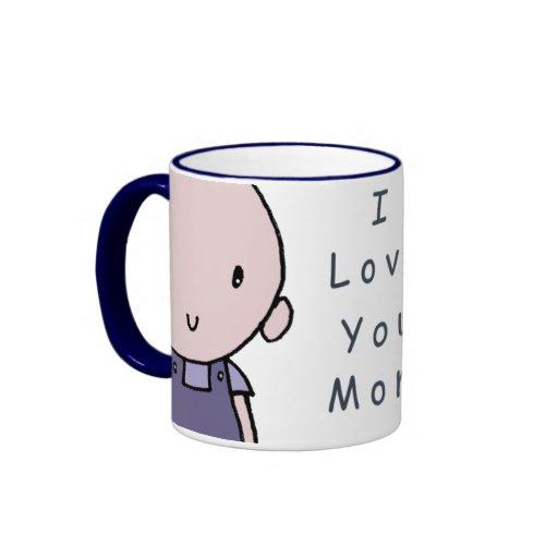I Love You Mom Boy Mug