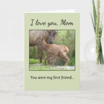 I Love You, Mom... Card