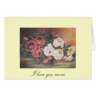 I love you mom card