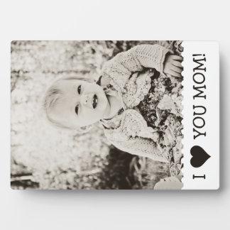 I Love You Mom Custom Plaque
