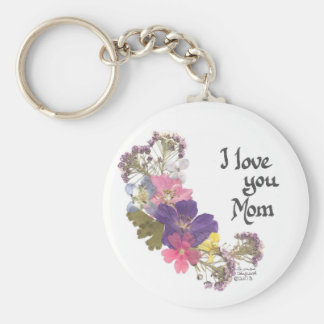 I love you Mom gifts Keychain
