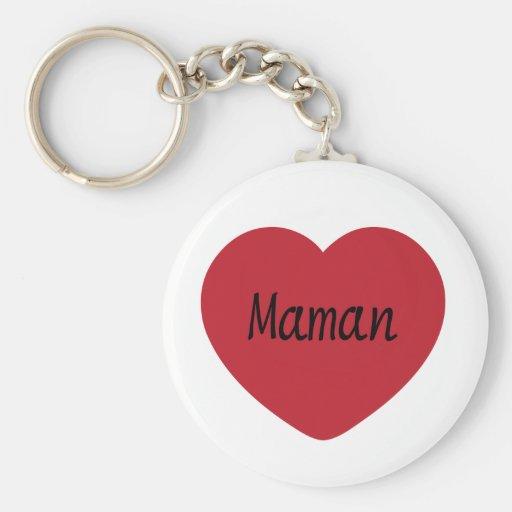 I Love You, Mom Key Chain