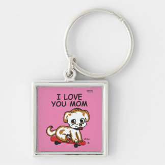 I Love You Mom Lil Max Keychain