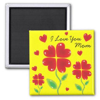 I Love You Mom Refrigerator Magnets