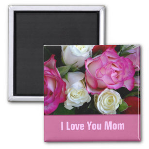 Mum I Love You To The Moon And Back Fridge Magnet Mothers Day