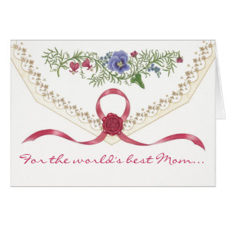 """I Love You, Mom"" Mother's Day Card"