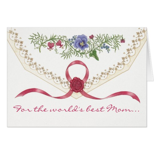 """""""I Love You, Mom"""" Mother's Day Card"""