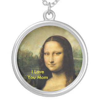 I LOVE YOU MOM-NECKLACE SILVER PLATED NECKLACE
