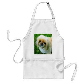 I love you mom pekingese dog apron
