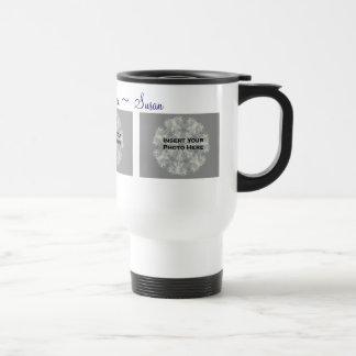 I Love You Mom Personalized Photo Travel Mug