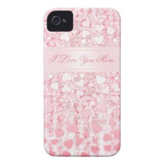 I love you mom pink BlackBerry Case