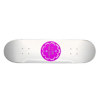 I love you mom skateboard deck